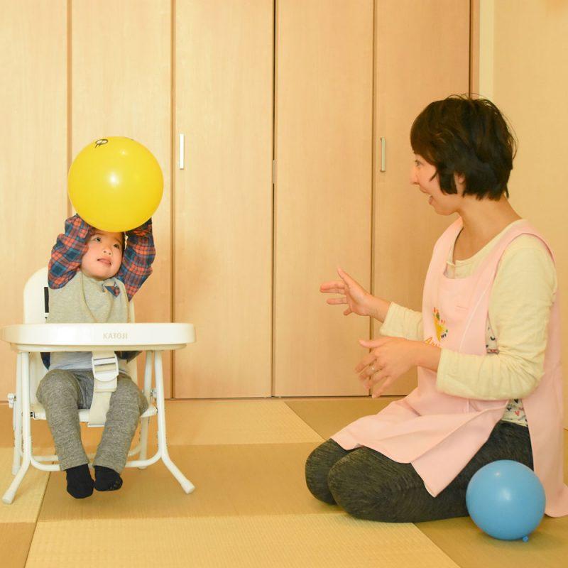 障害児訪問保育アニー・訪問看護師